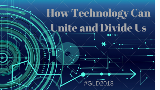Technology can unit or divid eus by Global Learn Day